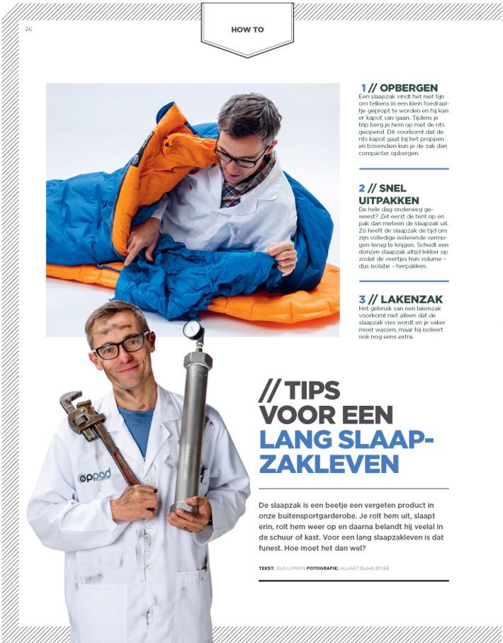 How to slaapzakken